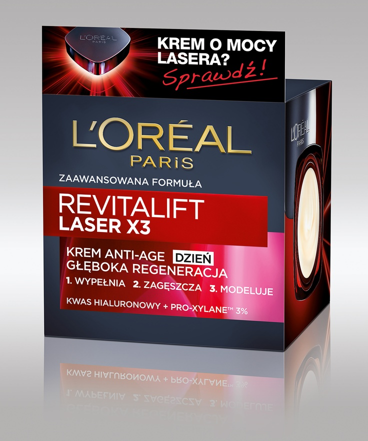 L'Oreal Revitalift Laser x3 krem na dzień