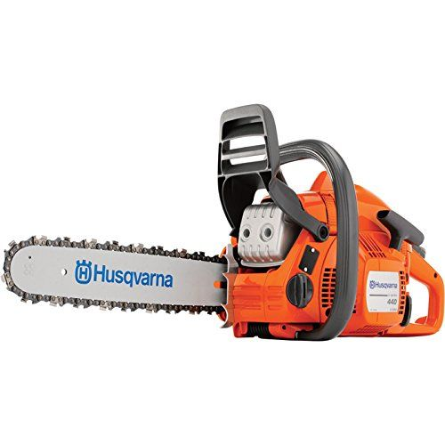 Husqvarna Reconditioned 440 Chain Saw - 40.9cc, 18 Inch Bar, 0.325 Inch Model 967155993 >  Lightweight and efficient all-round saw, ideal for those looking for a chainsaw that is exceptionally easy to start and manuever. Featuring X-Torq engine for lower fuel consumption and reduc... Check more at http://farmgardensuperstore.com/product/husqvarna-reconditioned-440-chain-saw-40-9cc-18-inch-bar-0-325-inch-model-967155993/
