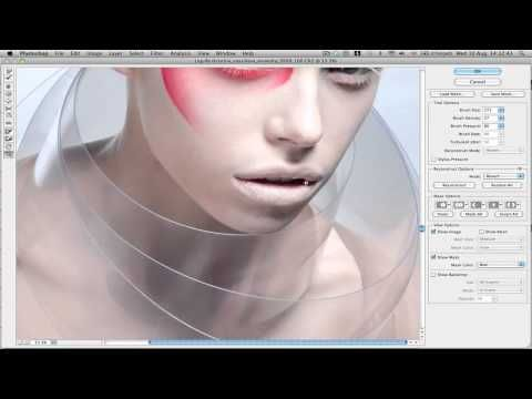 Video of the intricate photo editing process used on this model. Professional photo retouchers strategically place every detail for fashion and beauty spreads. It's particularly interesting when the model's ear is reconstructed. // High End Hair and Beauty Retouch