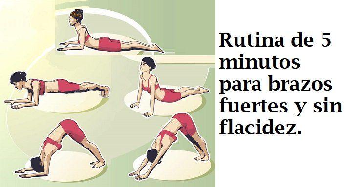 Rutina De 5 Minutos De Yoga Para Brazos Fuertes Y Sin Flacidez Brazos Fuertes Entrenamiento De Flexibilidad Ejercicios De Entrenamiento