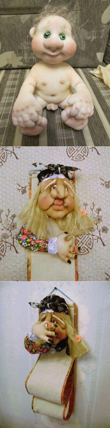 Разные МК по куклам из капрона часть 2 - Сайт pawy3!