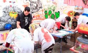 Groupon - Gift Voucher for a Two-Hour Graffiti Class Plus Canvas for One or Two at The Graffiti Workshop (Up to 63% Off)  in London. Groupon deal price: £29