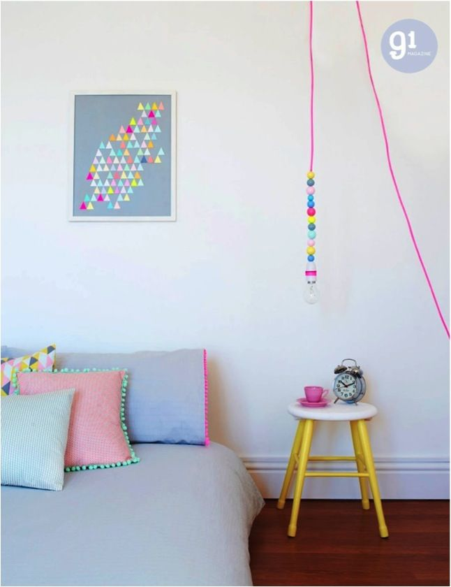 """""""neon and pastel room"""""""