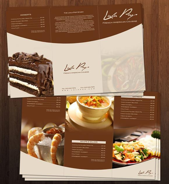39 Best Menu Design Images On Pinterest | Restaurant Menu Design