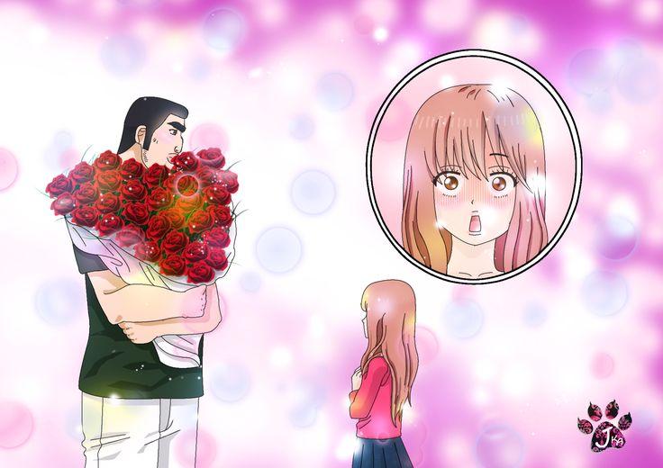 Rinko Yamato e Takeo Gouda love anime ore monogatari