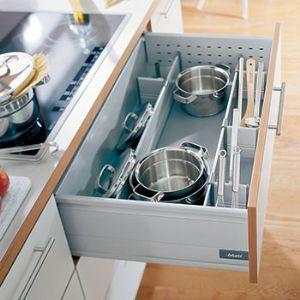 pots and pans storage   Pan Dividers   Storage for Pots and Pans   Pan Drawer Divider