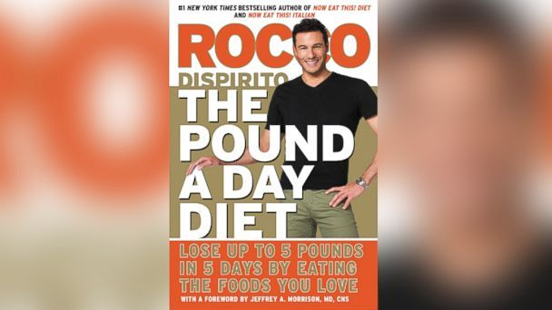 "JUST SAW A DAY'S WORTH OF THE FOOD ON ACCESS HOLLYWOOD LIVE.  MUST DO THIS.  Rocco DiSpirito is known for his delicious meals and now the celebrity chef says you can eat what you love and still lose weight with his ""Pound A Day Diet.""  The goal of his new diet book: to help dieters lose up to five pounds in five days."