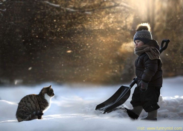 Best Russian Mother Takes Magical Pictures Of Her Two Kids With - Mother takes amazing pictures ever children animals farm