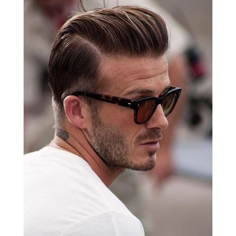 Pomade Hairstyles retro hairstyles for men Davidbeckham Is Our Mcm Because Well Look At Him Plus That Styling Pomadeundercut Hairstyleshaircutsdavid