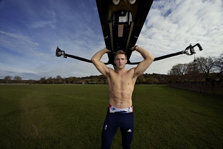 Double Olympic Gold Medal winning rower Pete Reed for Nikon Owner Magazine By Felix Kunze
