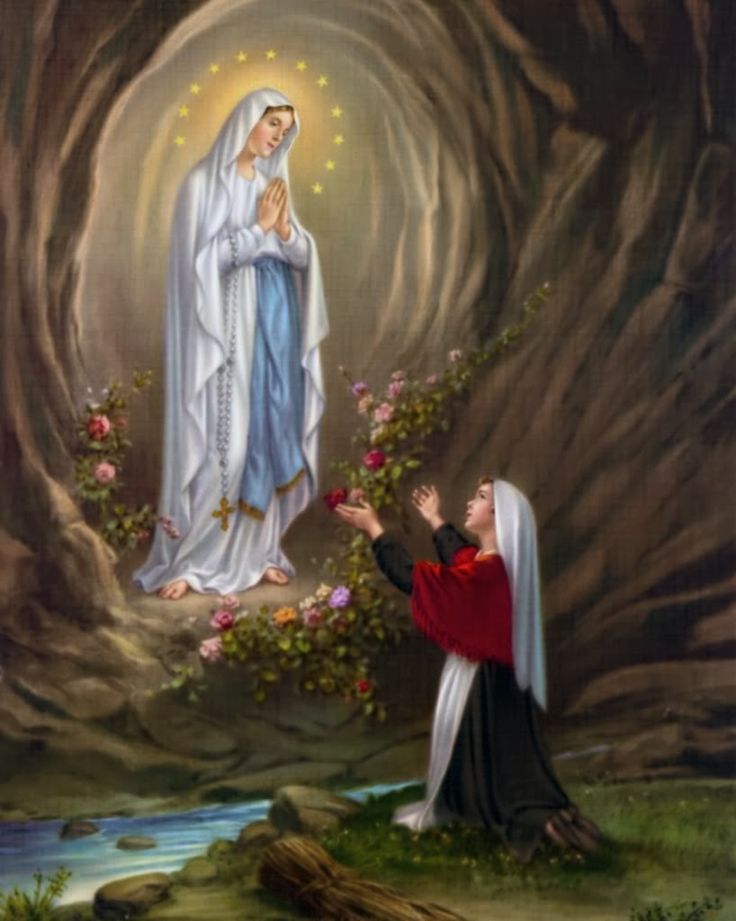 NOVENA TO OUR LADY OF LOURDES AND LITANY PRAYERS