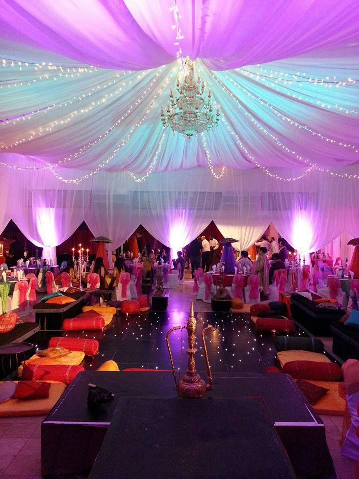 Moroccan theme party decoration hall decorations for Arabian party decoration ideas