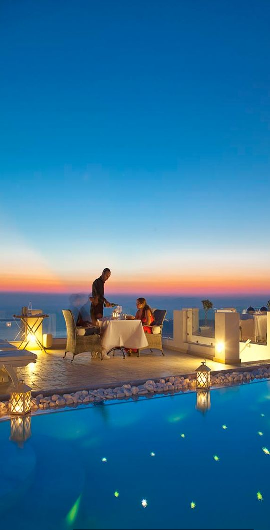 Above Blue Suites..Santorini   - Explore the World with Travel Nerd Nici, one Country at a Time. http://TravelNerdNici.com