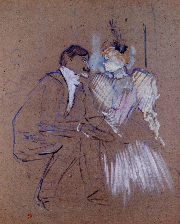Henri De Toulouse-Lautrec | ... and Granne Granier - Henri de Toulouse-Lautrec - WikiPaintings.org
