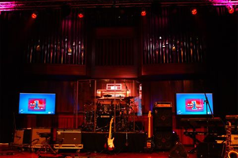 To record at the SABC M1 studio, which even has a pipe organ. Just imagine!