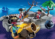 Playmobil - Pirates Super Set Featuring a safety shoot cannon this set includes secret cove and treasure. Tree is adustable http://www.comparestoreprices.co.uk/building-toys/playmobil--pirates-super-set.asp