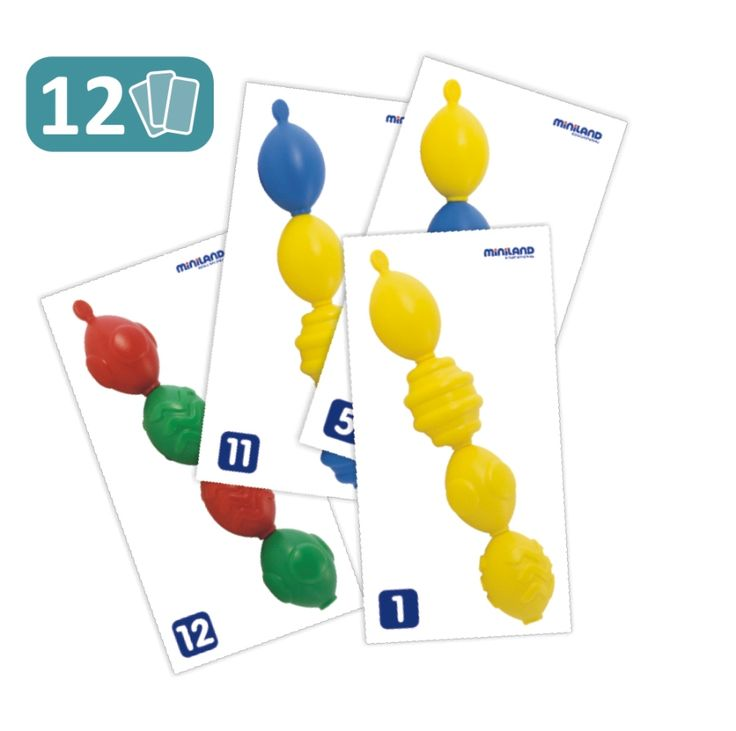 Maxichain - Juego de lógica, análisis y psicomotricidad. Para niños entre 18 y 36 meses. Juegan y aprenden.
