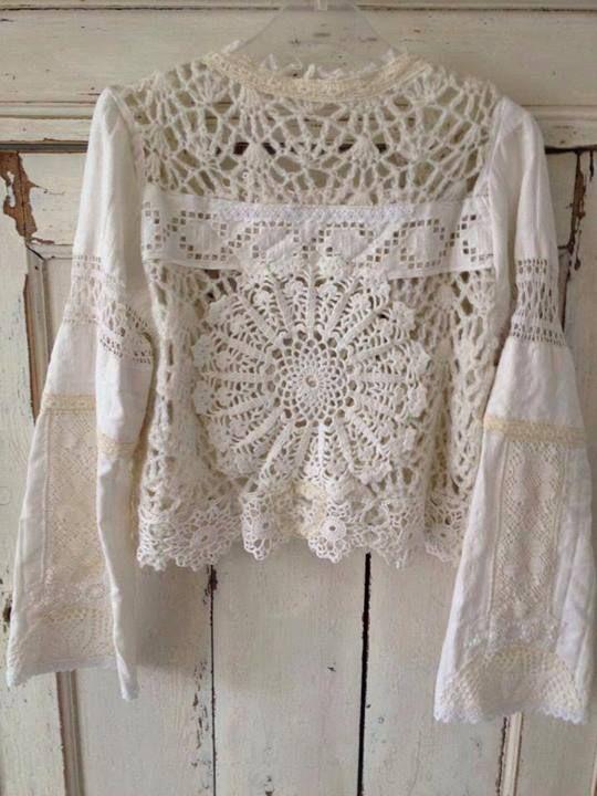 Crochet Lace Blouse _ Inspiration