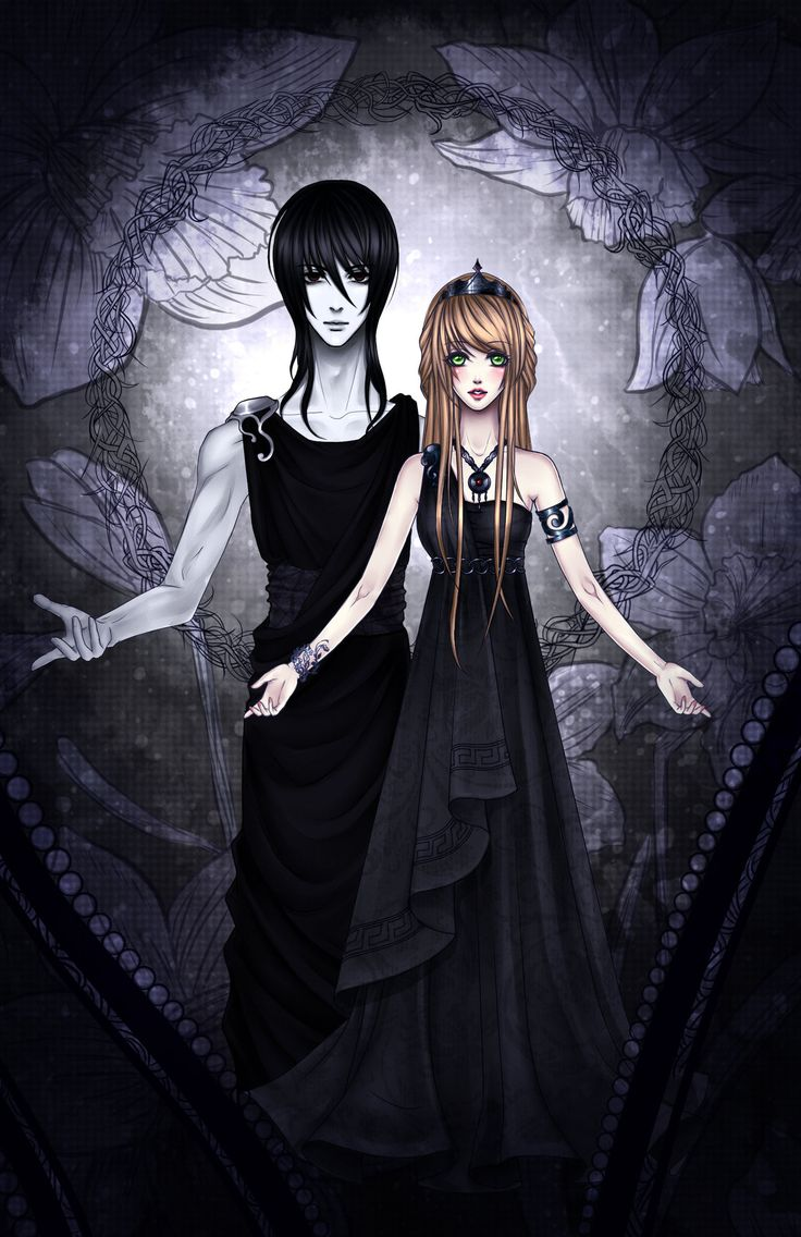 Hades and Persephone by Fluorescence911 on deviantART ...