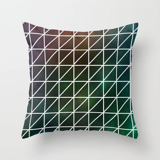 Geometric trendy pillow