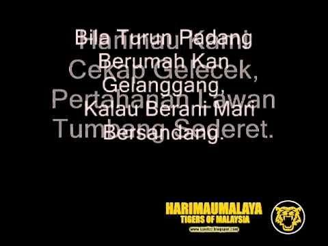 Selamanya-Harimau Malaya - Forza Tigers of Malaysia - National Football Team