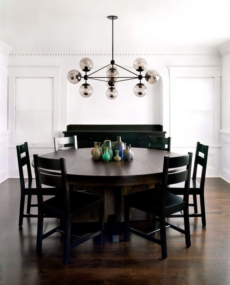 Chandelier Dining Room DINING ROOMS Pinterest