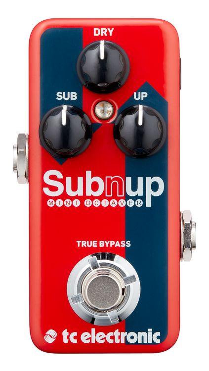 TC Electronic Sub 'N' Up Mini Octaver guitar effects pedal