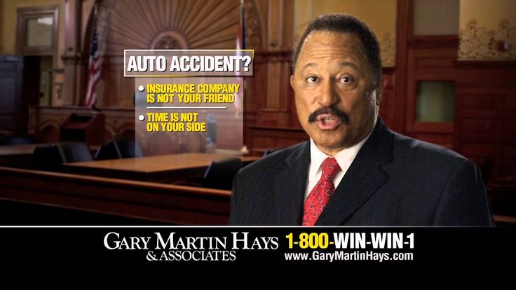 Visit http://www.garymartinhays.com - Judge Joe Brown knows that the insurance companies are not your friend. He tells you why you need to call the experienced personal injury lawyers at The Law Offices of Gary Martin Hays & Associates if you have been seriously injured in an auto accident.