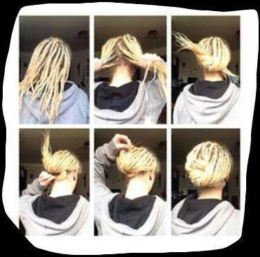 Dreadlock Style #dreads #hair