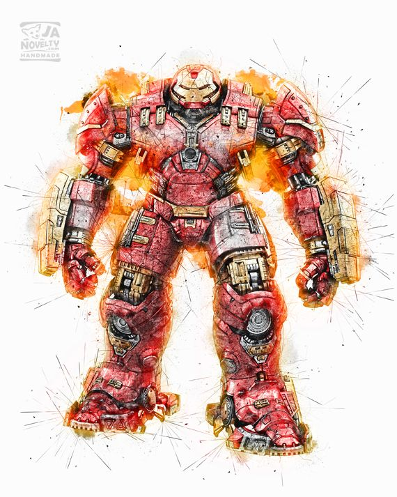 Hulk buster by JAnovelty