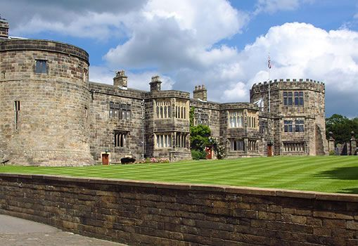 Skipton Castle - Skipton, Yorkshire, England - In the 17th century, home to Lady Anne Clifford, Countess of Pembroke.