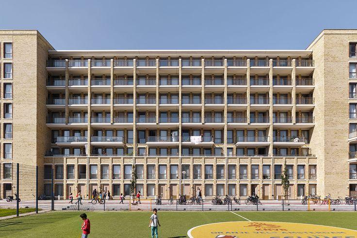 De Titaan / Geurst & Schulze Architecten / Eigen Haard Amsterdam / Berceusestraat 1-59