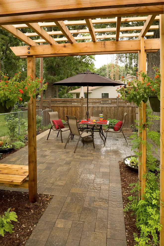 Best Small Patio Images On Pinterest Backyard Ideas Patio