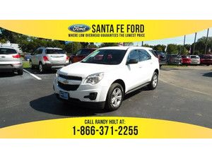 2013 Summit White Chevrolet Equinox LS 36461P