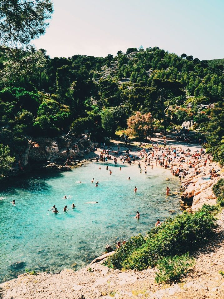 Crystal clear waters of Les Calanques #Marseille #France | BM | VSCO Grid