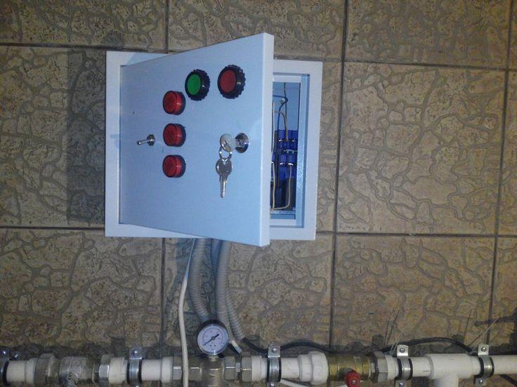 Насосная станция. Управление подачей воды.