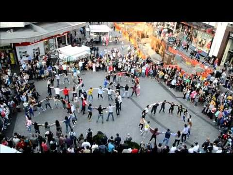 Zorbas Birmingham Flash Mob