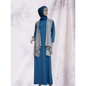 Busana Muslim - Hoodie Vest