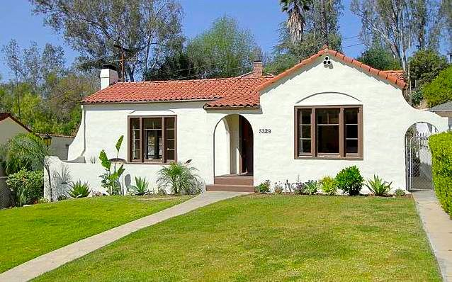 1925 Spanish Style Home In Eagle Rock Los Angeles