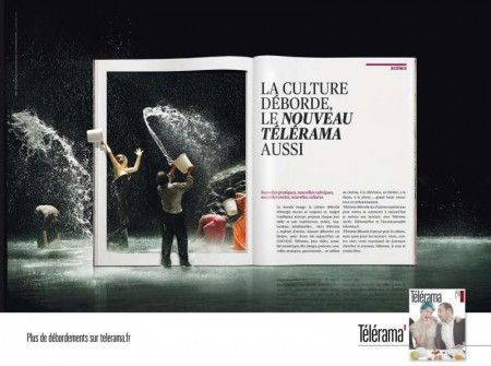 La culture déborde, le nouveau Télérama aussi. Les Ouvrier du Paradis, 2012