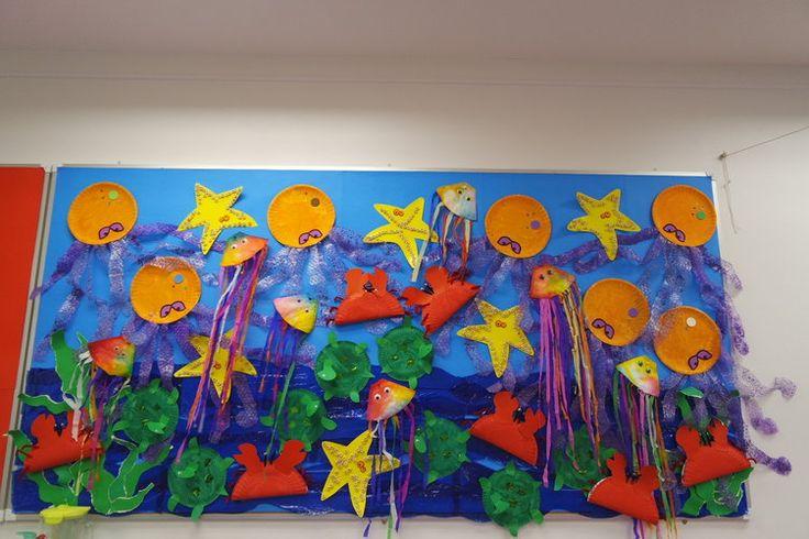 Sea Display, Ocean, Fish, Starfish, Sealife, Art, Craft ...