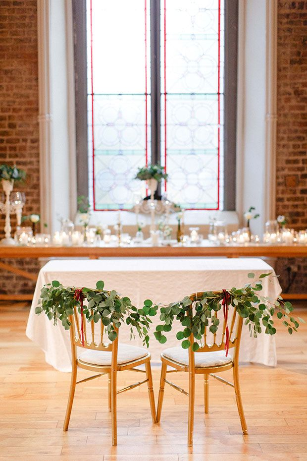 Beautiful Winter Wedding at Smock Alley Theatre, Styled by Sweet Pea and Violet and Captured by Peter Carvill Photography | see the rest of this wedding on www.onefabday.com