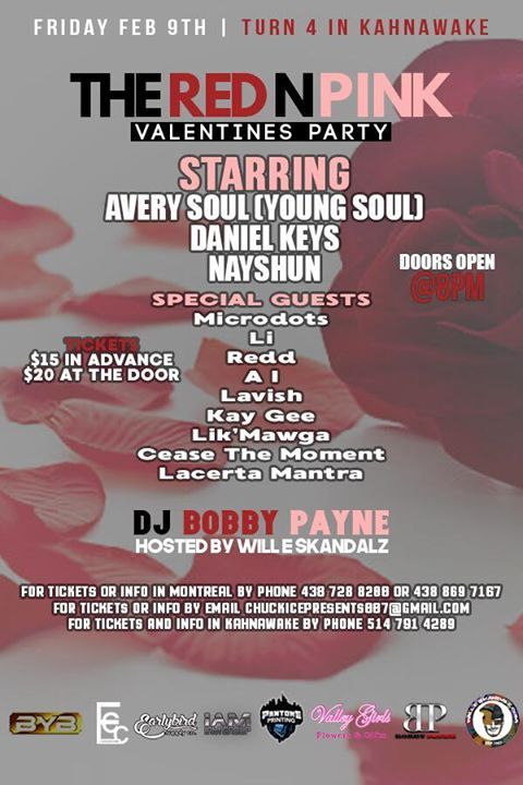 Red N Pink Valentines Party