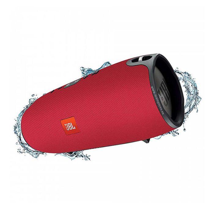 JBL Xtreme Splashproof Portable Bluetooth Speaker Red