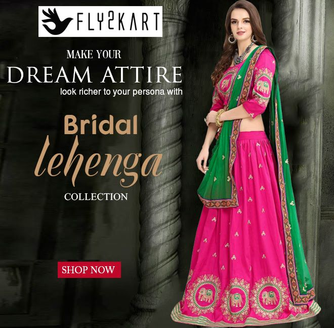 BUY DESIGNER LEHENGAS ONLINE SHOPPING- Fly2kart.com http://www.fly2kart.com/sarees-saris.html?utm_content=buffer0051c&utm_medium=social&utm_source=pinterest.com&utm_campaign=buffer SALE UP TO 60% OFF!!! +91-8000800110 CALL OR WHATSAPP