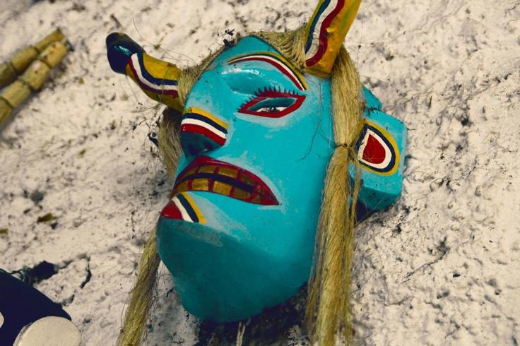 Blue mask