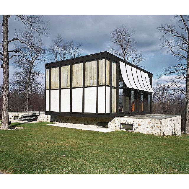 "73 Likes, 4 Comments - Pierluigi Serraino (@pierluigiserraino) on Instagram: ""One of the creative peaks of Philip Johnson in his modernist phase. The Wiley House, New Canaan,…"""