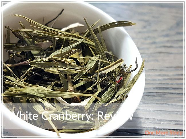 Review of Citizen Tea's White Cranberry (flavoured white tea) on One More Steep