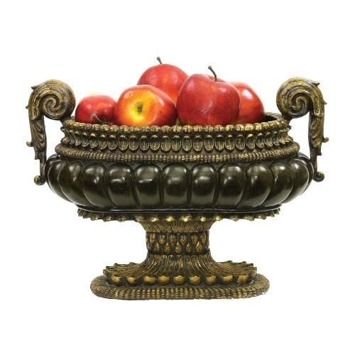 Sterling Industries 91-1260 Sterling Mediterranean Decorative Centerpiece Display Bowl