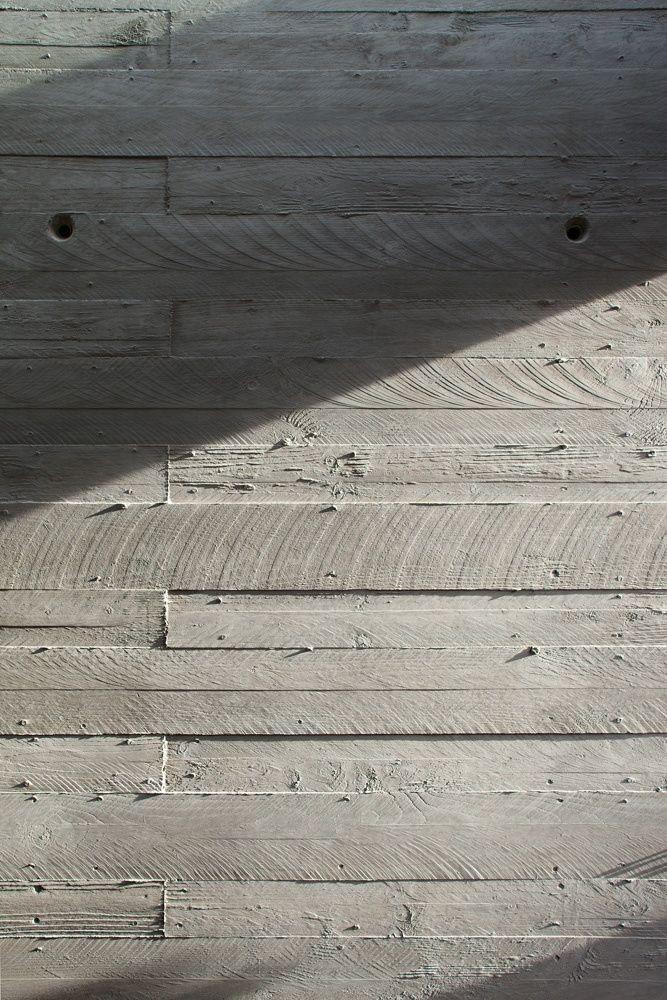 Board Formed Concrete Facade Gardenista Hardscape